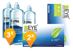 EyeDefinition Biosensitive  + ReNu MultiPlus