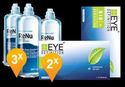 EyeDefinition Biosensitive  + ReNu MultiPlus