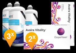 Avaira Vitality + EyeDefinition Pro-Vitamin B5