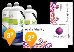 Avaira Vitality+ EyeDefinition Sensitive Plus