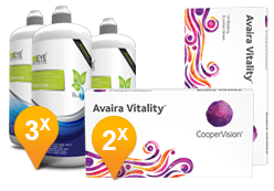 Avaira Vitality+ EyeDefinition Sensitive Plus