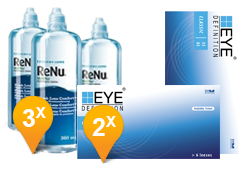EyeDefinition Classic 55 AS + ReNu MultiPlus