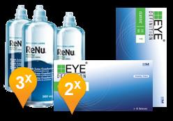 EyeDefinition Classic 55 AS Toric + ReNu MultiPlus