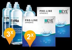 EyeDefinition Pro-Line + ReNu MultiPlus
