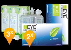 EyeDefinition Biosensitive  + BioTrue Soluzione
