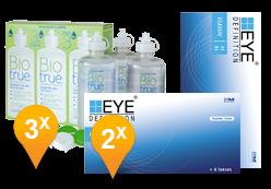 EyeDefinition Classic 55 AS + Biotrue Soluzione