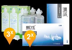 EyeDefinition Extreme SH180 + BioTrue soluzione
