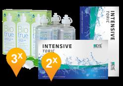 EyeDefinition Intensive Toric + BioTrue soluzione