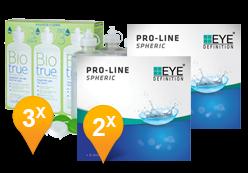 EyeDefinition Pro-Line + BioTrue soluzione