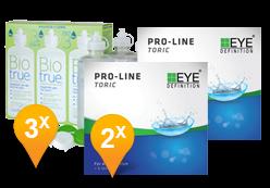 EyeDefinition Pro-Line Toric + BioTrue soluzione