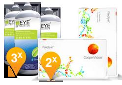 Proclear + EyeDefinition Sensitive Plus