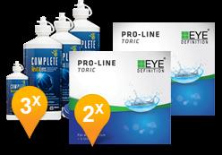 EyeDefinition Pro-Line Toric + Complete Revitalens