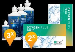 EyeDefinition Oxygen Plus Toric + Complete Revitalens