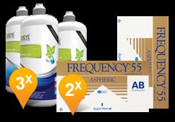Frequency 55 Aspheric + Eyedefinition Sensitive Plus