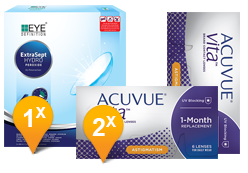 ACUVUE® VITA™ for Astigmatism + EyeDefinition Extrasept al Perossido