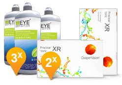 Proclear Multifocal XR + EyeDefinition Sensitive Plus