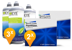 Purevision + EyeDefinition Sensitive Plus