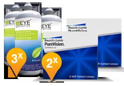 Purevision + EyeDefinition Sensitive Plus