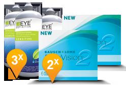 PureVision 2 HD + EyeDefinition Sensitive Plus