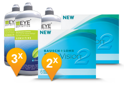 PureVision 2 HD + EyeDefinition Sensitive Plus