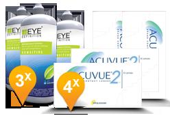 Acuvue 2 + EyeDefinition Sensitive Plus