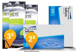 SofLens 59 + EyeDefinition Sensitive Plus