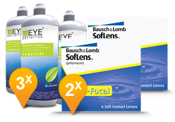 Soflens Multifocal + EyeDefinition Sensitive Plus