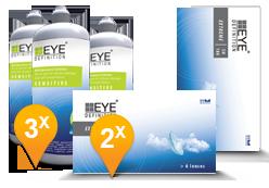EyeDefinition Extreme SH180 + Sensitive Plus