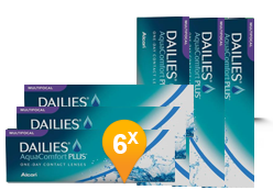 Dailies AquaComfort Plus Multifocal - 90+90 lenti