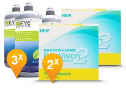 PureVision 2 Multi-Focal + EyeDefinition Sensitive Plus