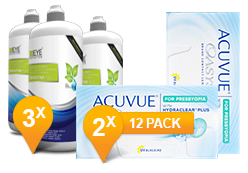 Acuvue Oasys for Presbyopia + EyeDefinition Sensitive Plus