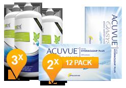 Acuvue Oasys + EyeDefinition Sensitive Plus