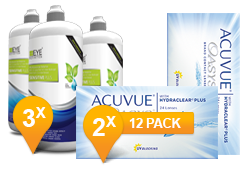 Acuvue Oasys + EyeDefinition Sensitive Plus