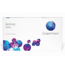 biofinity toric coopervision 6 lenti