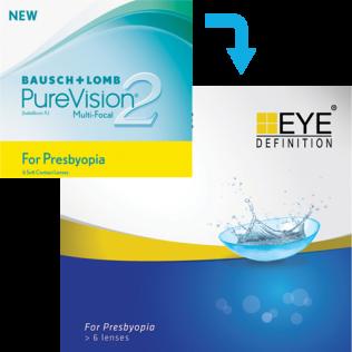 EyeDefinition Pro Line Multifocal (6 lenti)