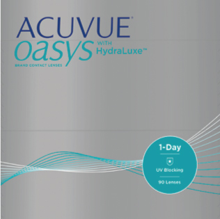 ACUVUE OASYS® 1 DAY with HydraLuxe™(90 lenti)