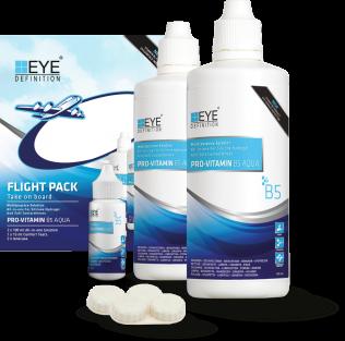 EyeDefinition Pro-Vitamin B5 Multi Purpose Solution Flight Pack