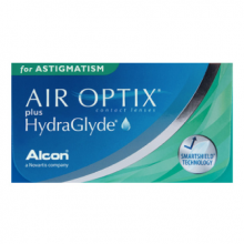 AIR OPTIX plus HydraGlyde Astigmatism