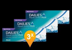 DAILIES AquaComfort Plus Multifocal (90 lenti)