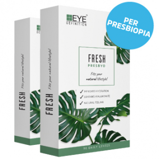 EyeDefinition Fresh PRESBYO Hydra Fusion 1 Day PRESBYO(180 lenti)