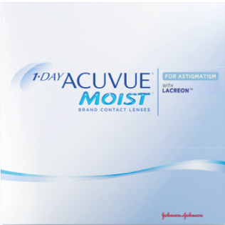 1 DAY ACUVUE® MOIST for ASTIGMATISM (180 lenti)
